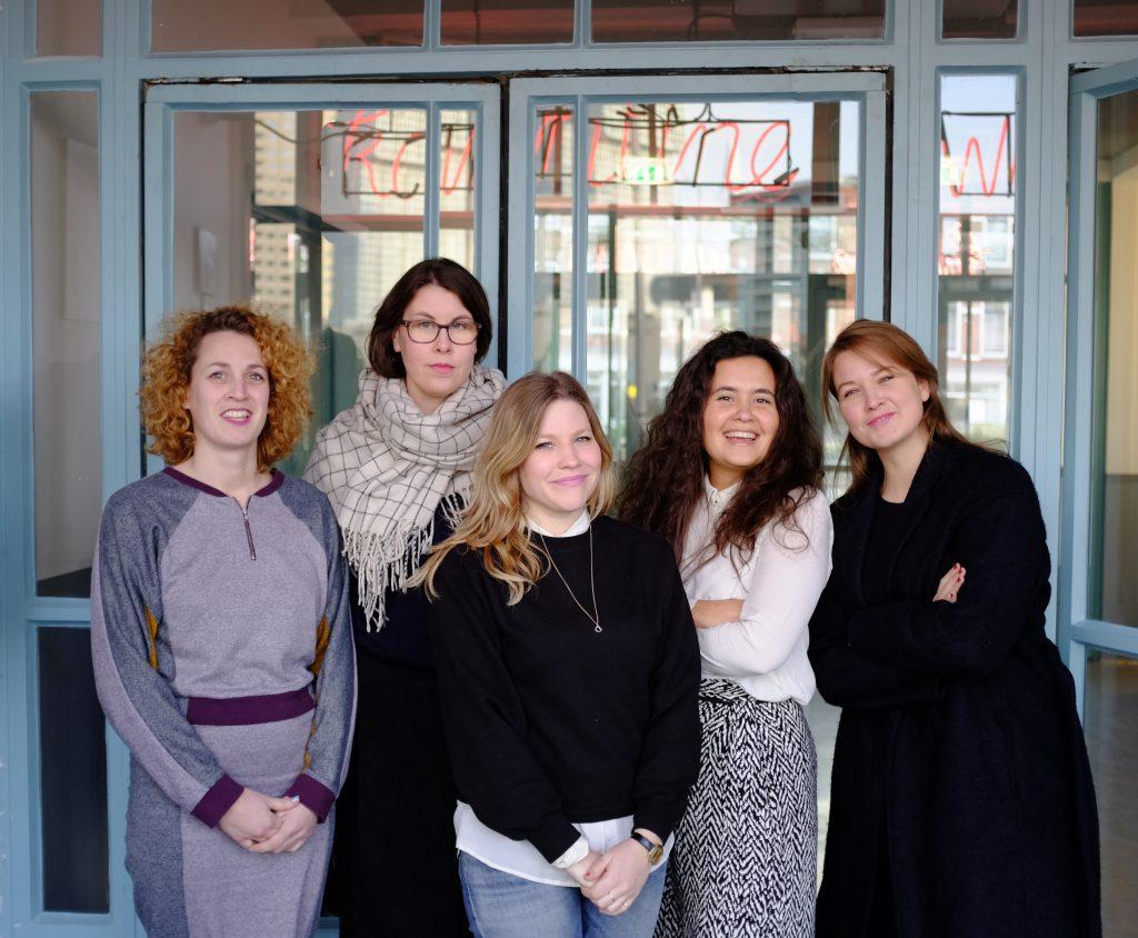 Sarah Mesritz, Anna Hennerdal, Kellie Riggs, Marina Elenskaya, Linda Beumer Rotterdam, 2014