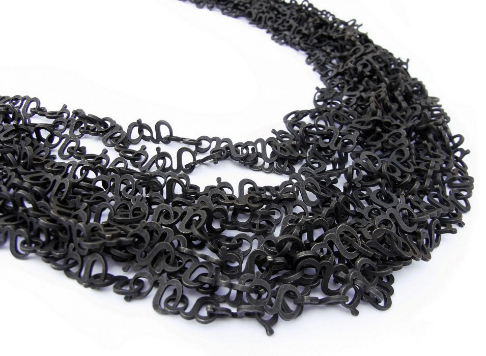 < 1000g >, necklace, material: silver925