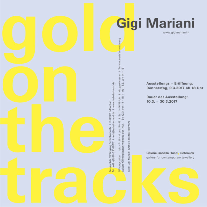 (71) gold on the tracks - Gigi Mariani
